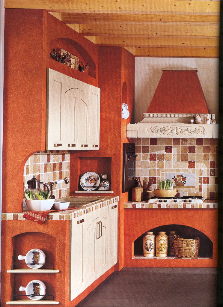 Spoletonline arredare una cucina in muratura uno stile for Casa moderna a foligno